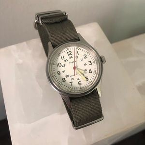 J Crew Watch with Extra Bands